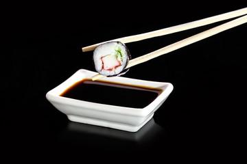 Sushi - Japanese cuisine with sushi rice