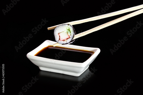Sushi - Japanese cuisine with sushi rice