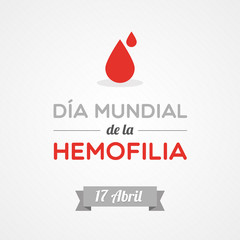 World Hemophilia Day in Spanish