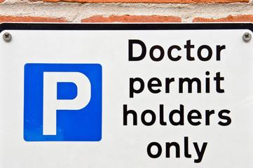 Doctors' parking