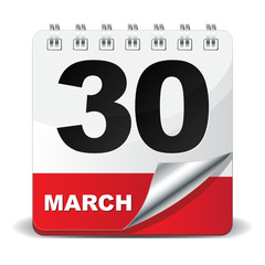 30 MARCH ICON