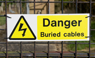 Buried cables