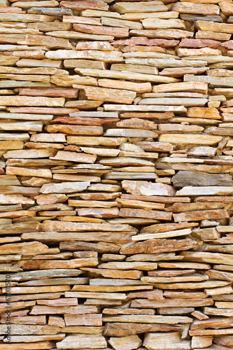 vintage stacked stone background
