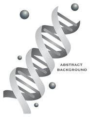 Abstract DNA background