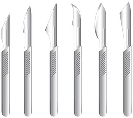 Stainless scalpels