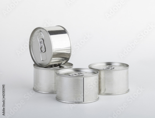 Milk cans isolated