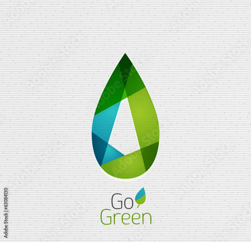 Green Leaf Nature Concept