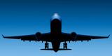 Fototapeta samolot