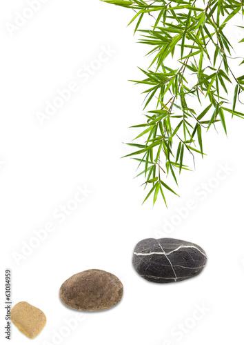 foto auf acrylglas banni re zen galets et feuilles d 39 rable nikkel. Black Bedroom Furniture Sets. Home Design Ideas