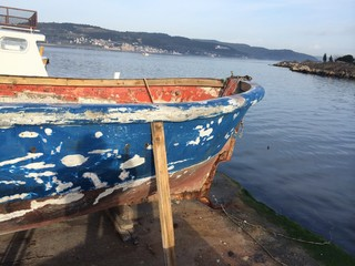 Kızakta Tekne