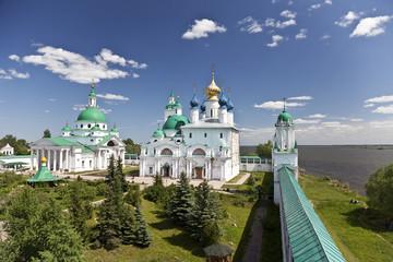 View of the Spaso-Yakovlevski Monastery In Rostov. Russia