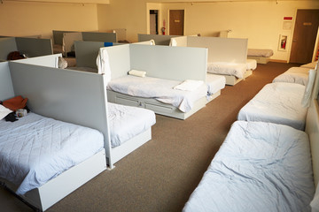 Empty Beds In Homeless Shelter