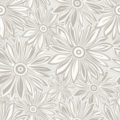 Seamless designer floral background