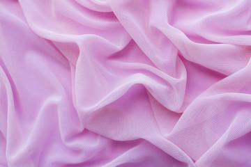 Pink organza fabric texture