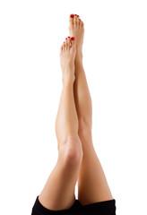 Beautiful bare women legs