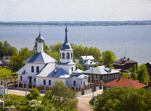 Rostov The Great. The Church of St. Nicholas on Podozerie