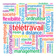 """Nuage de Tags """"TELETRAVAIL"""" (télétravail organisation du temps)"""