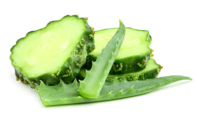Cucumber with aloe.
