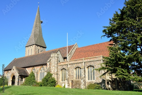 Parish Church in England