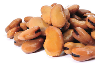 cooked bread beans