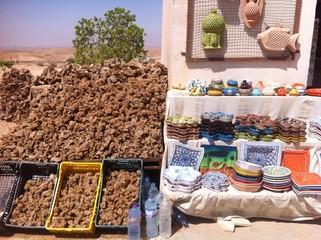 Au marché Tunisien