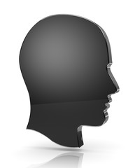 Man Head Profile