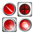 Web glossy Buttons Collection