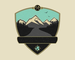 Retro Adventure Emblem