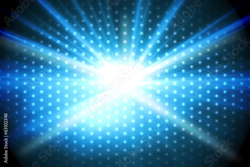 Digitally generated disco background