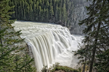 Yoho Park Wapta falls