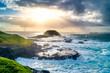 Grüne Küste, Dramatischer Wolkenhimmel