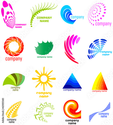 Set of environmental concept icons
