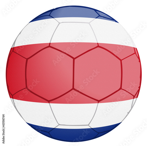 Costa Rica Soccer Ball World Cup