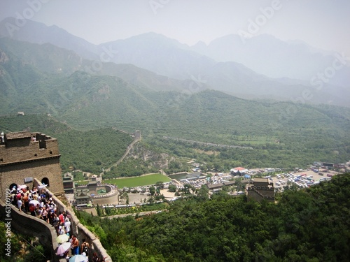 view from the great chinese wall