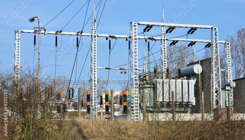 transformers and high-voltage substations