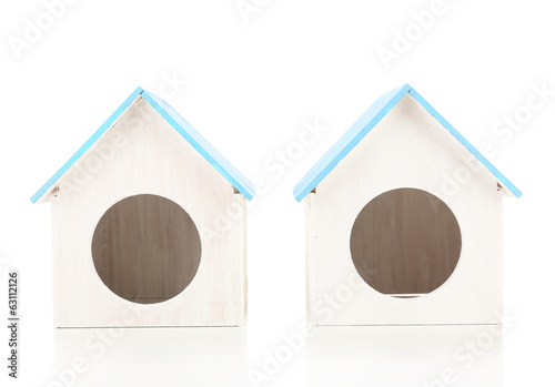 Bird House isolated on white