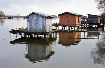 Fishing Huts North France