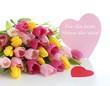 Tulpen für die beste Mama der Welt