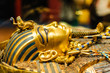 Leinwanddruck Bild - Mask of pharaoh Tutankhamun