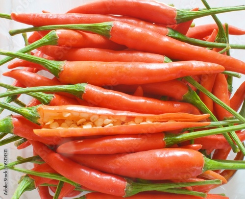 Red pepper,chili vegetable