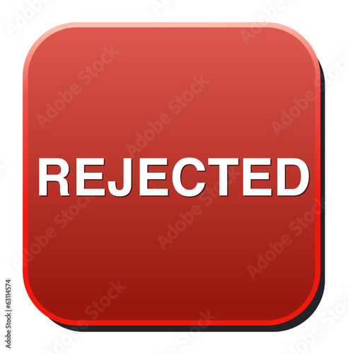 Reject button