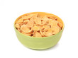 Bowl of corn cereal