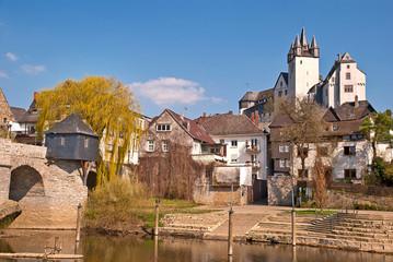 Diez mit alter Lahnbrücke und Grafenschloss