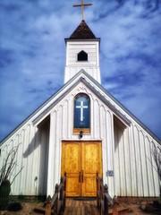 Old Church Goldfield Ghost Town, Arizona, USA