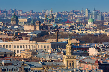 Panorama of St.-Petersburg.