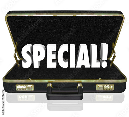 Special Offer Proposal Business Presentation Briefcase