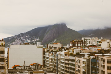 buildings and mountain in Rio De Janero