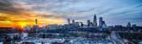sunset over city of charlotte north carolina - 63120923