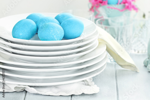 Easter Eggs and Dishware