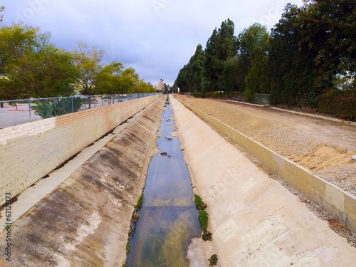 Canal Flood Control in California